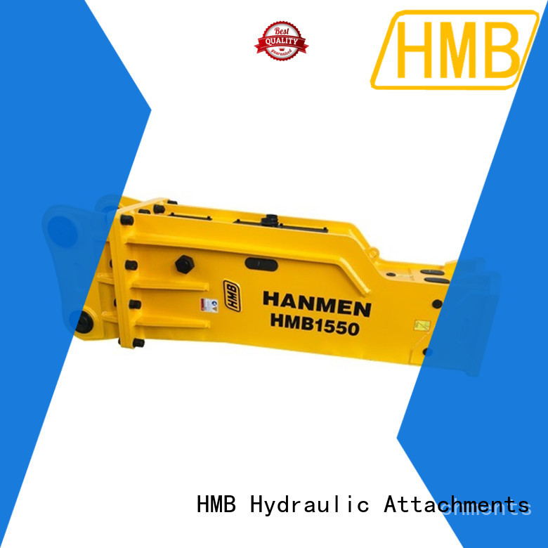 HMB High-quality hydraulic hammer price manufacturers for Railway