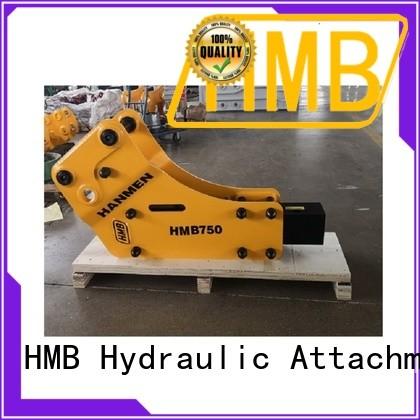 HMB hydraulic breaker for business for broken concrete pavement