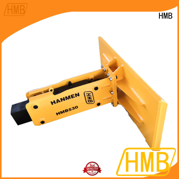 HMB Best Excavator Attachments Suppliers wholesale for Concrete crushing
