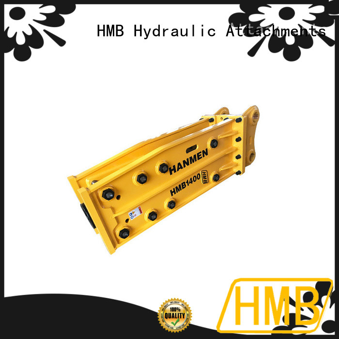HMB hydraulic concrete breakers for sale Exporter for Concrete crushing