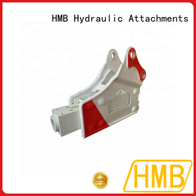 HMB Custom hydraulic attachment services factory for Mini excavator or skid steer loader