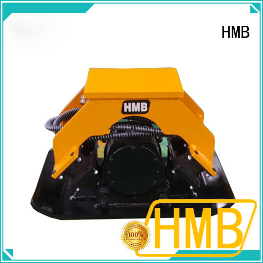 HMB sturdy construction hydraulic plate compactor for business for loading secondary-hard stone