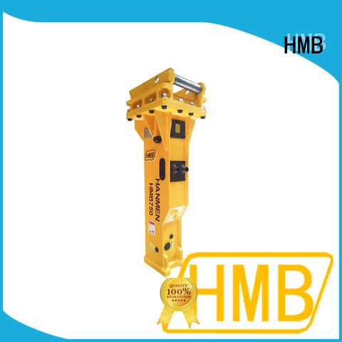 HMB More convenience hydraulic concrete breaker for excavator company for Old building demolition