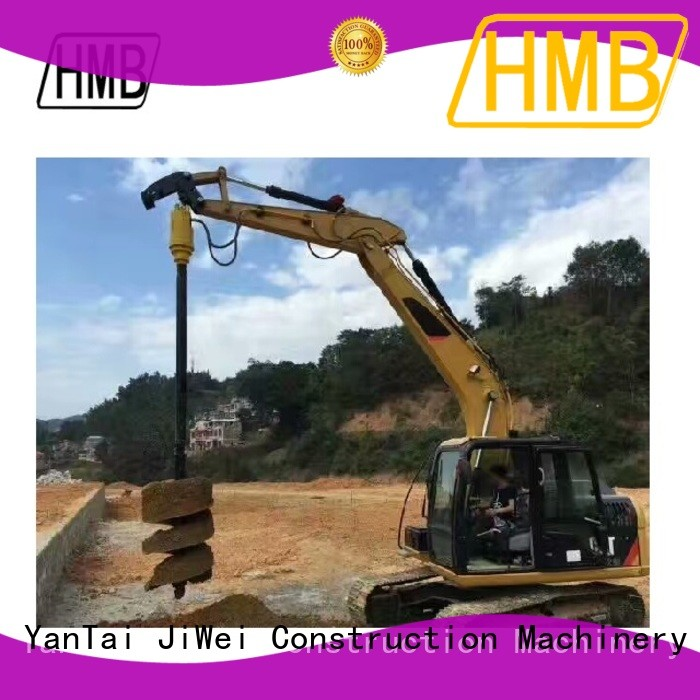 HMB digger auger for sale manufacturer for secondary crushing.