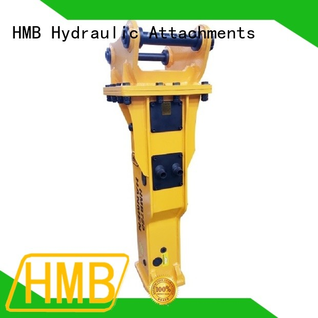 HMB mega impact working power hydraulic hammer for sale Customization for concrete crushing