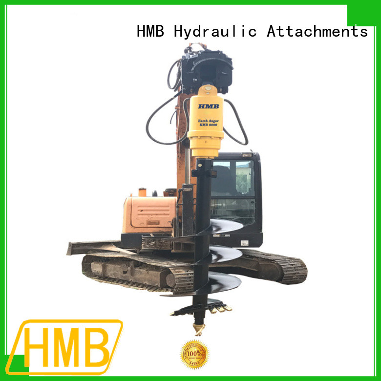 widely used excavator auger Customization for secondary crushing.