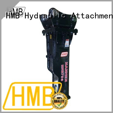 HMB hydraulic breaker hammer attachment factory for Mini excavator or skid steer loader