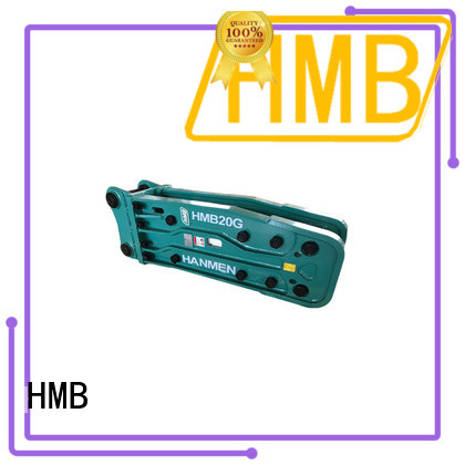 HMB excavator hydraulic hammer price manufacturers for Concrete crushing