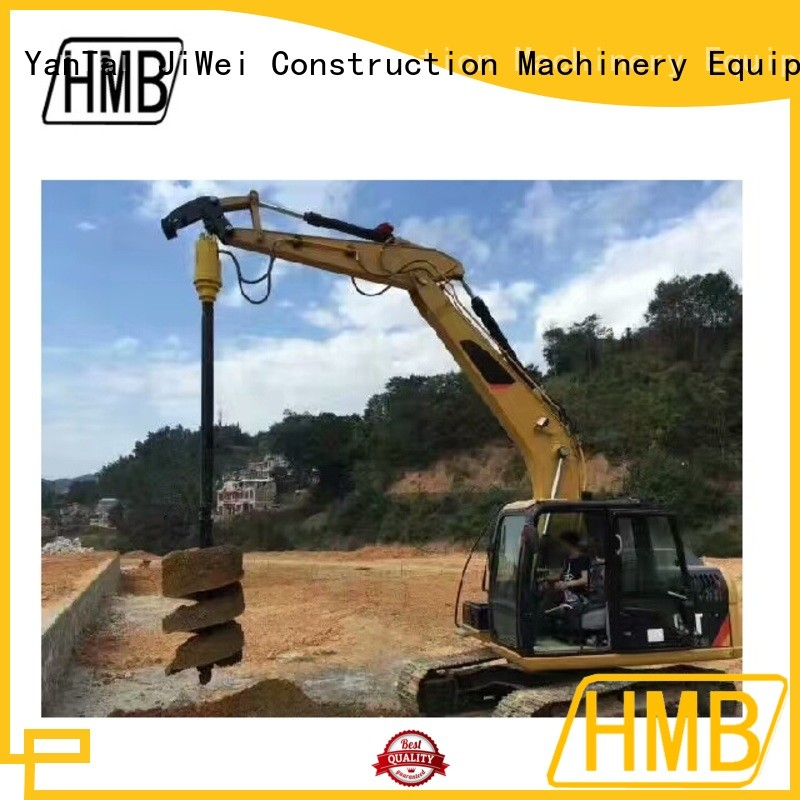 HMB hydraulic auger drill for business for Old building demolition