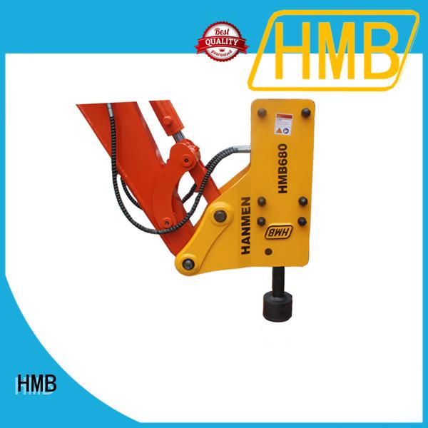HMB breaker excavator company for Mountains