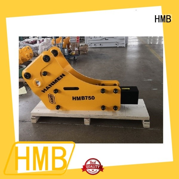 Low noise level hydraulic breaker manufacturers company for foundation excavation
