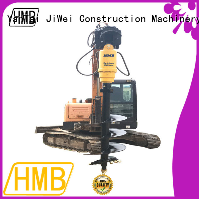 HMB excavator auger Exporter for Old building demolition