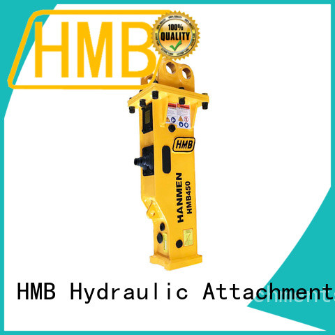 HMB Easy maintenance hydraulic stone breaker factory for Highway