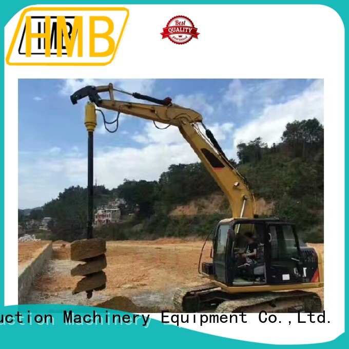 High-quality hydraulic earth auger for sale China for tunneling