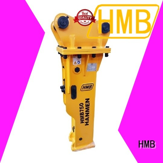 HMB convenience hydraulic hammer Supply for concrete crushing