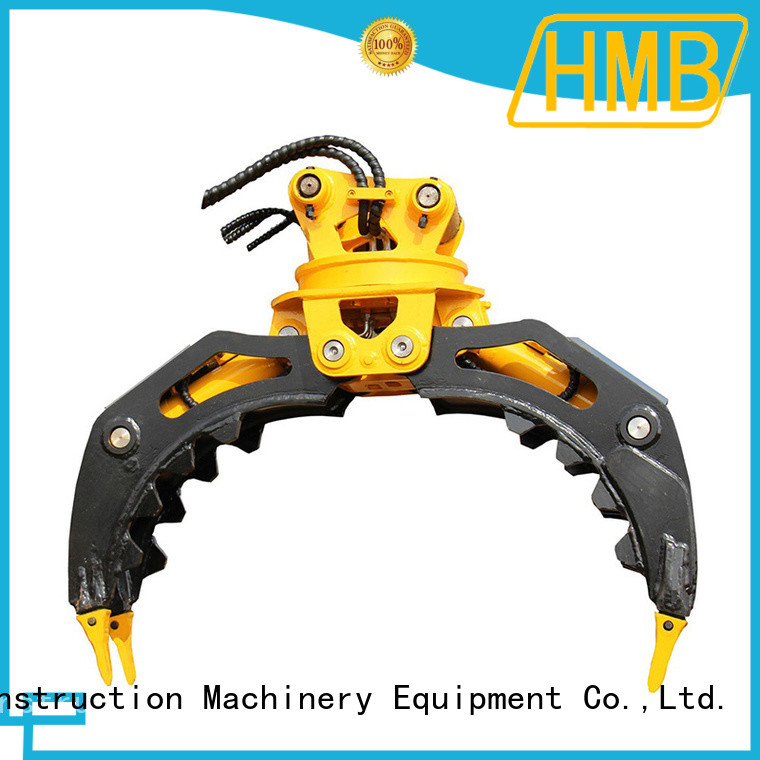 HMB sturdy construction hydraulic grab manufacturers in China for loading