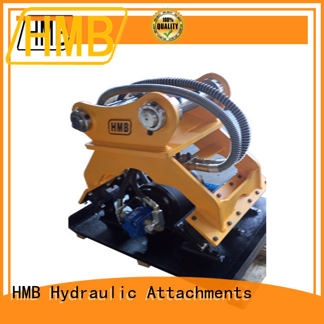 HMB Best excavator hydraulic compactor company for loading weathered rock