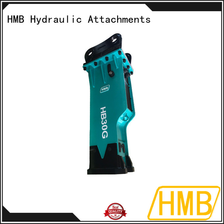 HMB Wholesale hydraulic hammer in China for concrete crushing