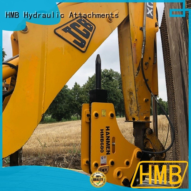 HMB excavator hydraulic hammer price company for Highway