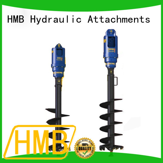 HMB High-quality auger attachment in China for excavator