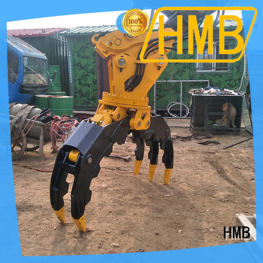 sturdy construction grab bucket supplier for Mini excavator or skid steer loader