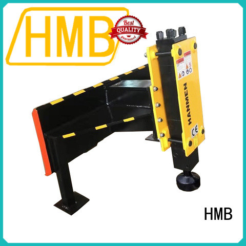 high wear resistance hydraulic pile hammer in China for river bank reinforcement