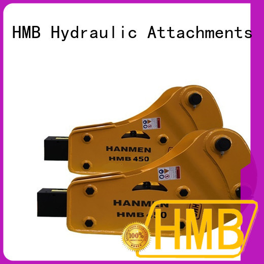 Easy maintenance hydraulic road breaker Exporter for foundation excavation