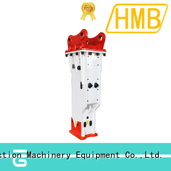HMB widely used hydraulic rock breaker company for excavator