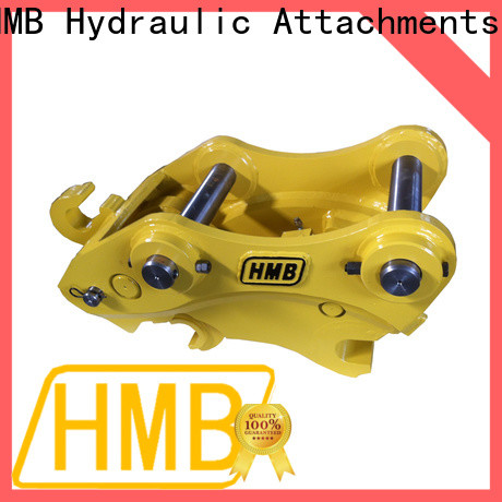 HMB easy to operate excavator quick coupler manufacturers Supply for connect attachments buckets