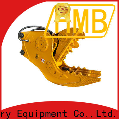 HMB hydraulic demolition pulverizer for excavator manufacturer for cutting iron beams of building structure